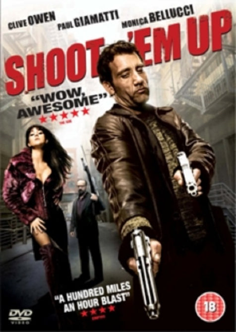 Shoot Em Up (Clive Owen, Paul Giamatti, Monica Bellucci) New Region 2 DVD