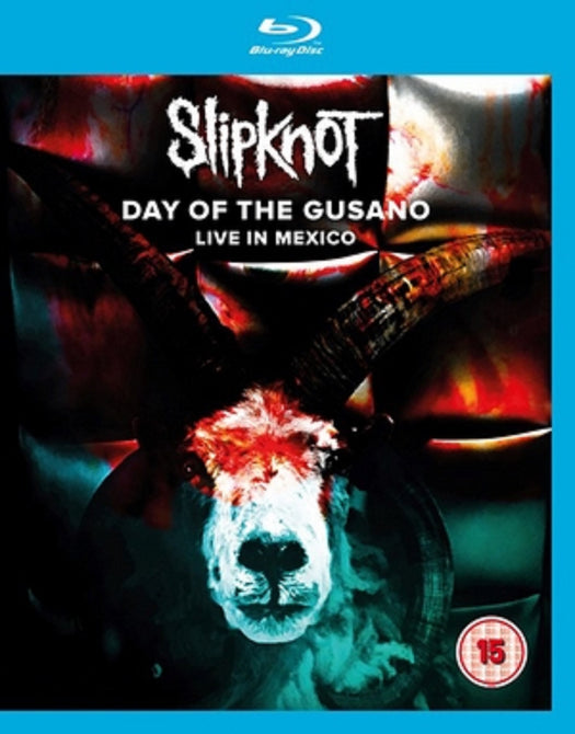 Slipknot Day of the Gusano Live in Mexico New Region B Blu-ray