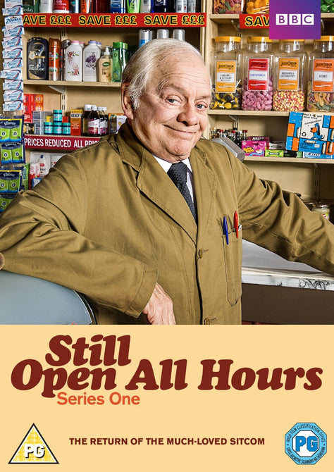 Still Open all Hours Series 1 + 2013 Christmas Special Region 4 New DVD