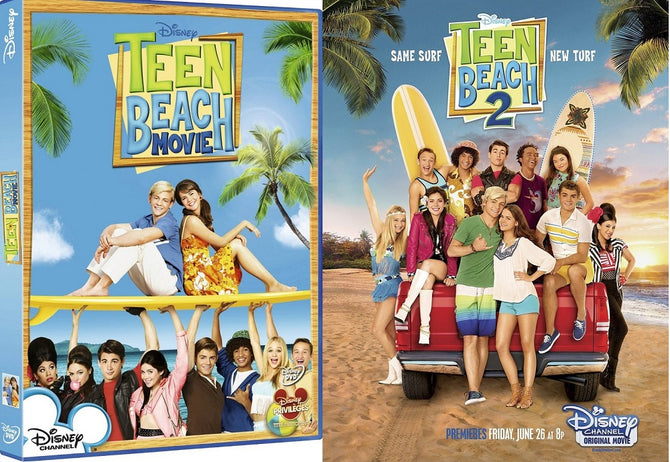 Teen Beach Movie 1 + 2 (Ross Lynch Disney) R4 DVD New