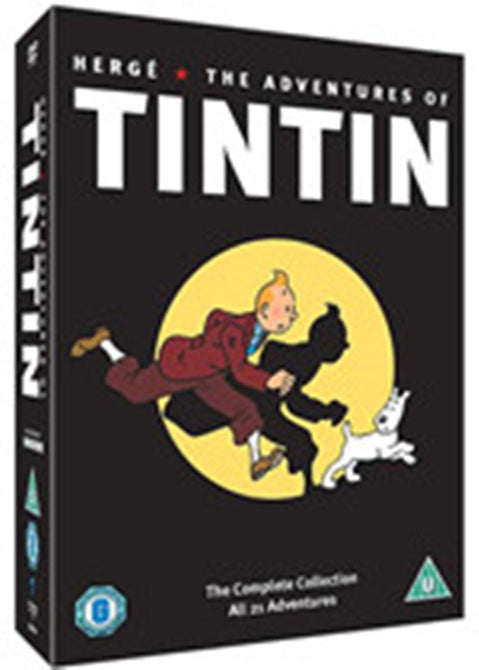The Adventures Of Tintin Tin Tin Complete Collection Region 2 New 5xDVD