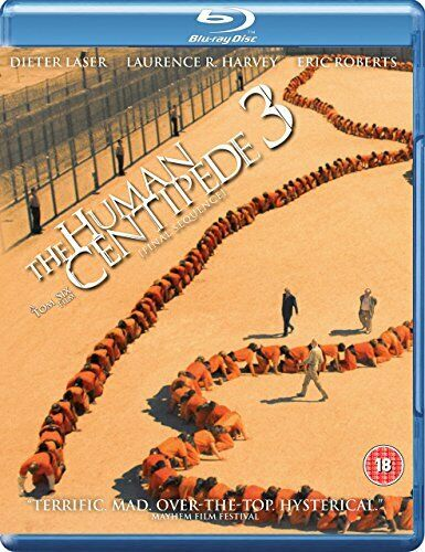 The Human Centipede 3 Final Sequence (Dieter Laser) Three New Region B Blu-ray