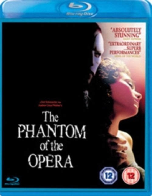 The Phantom of the Opera (Gerard Butler, Emmy Rossum) New Region B Blu-ray