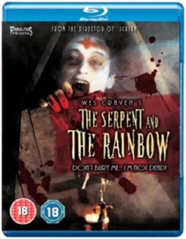 The Serpent and the Rainbow (Bill Pullman, Cathy Tyson) & New Region B Blu-ray