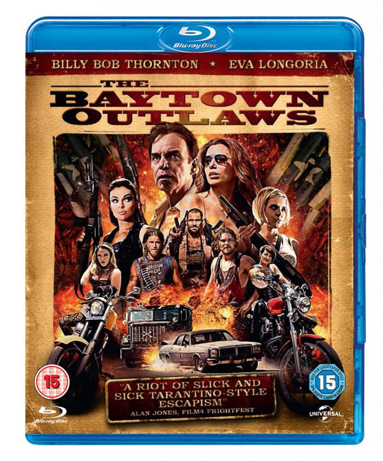 The Baytown Outlaws (Billy Bob Thornton, Eva Longoria) New Region B Blu-ray
