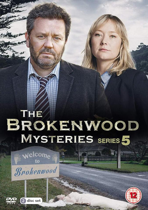 The Brokenwood Mysteries Season 5 Series Five Fifth New Region 4 DVD