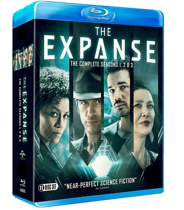 The Expanse The Complete Season 1 2 3 Series New Region B Blu-ray Box Set