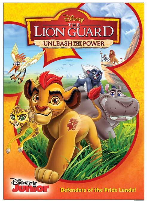 The Lion Guard Unleash the Power (Max Charles, Joshua Rush) New Region 4 DVD