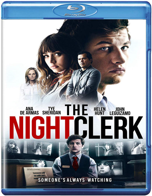 The Night Clerk (Tye Sheridan Ana de Armas John Leguizamo) Region B Blu-ray