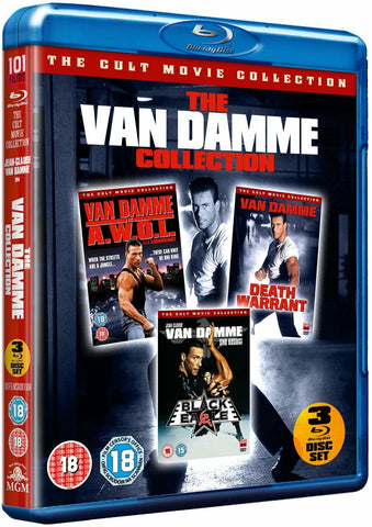 The Van Damme Collection Black Eagle + Lionheart + Death Warrant Reg B Blu-ray