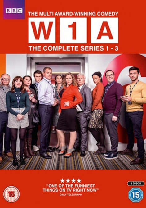 W1A Season 1 2 3 Series One Two Three First Second Third New DVD Box Set