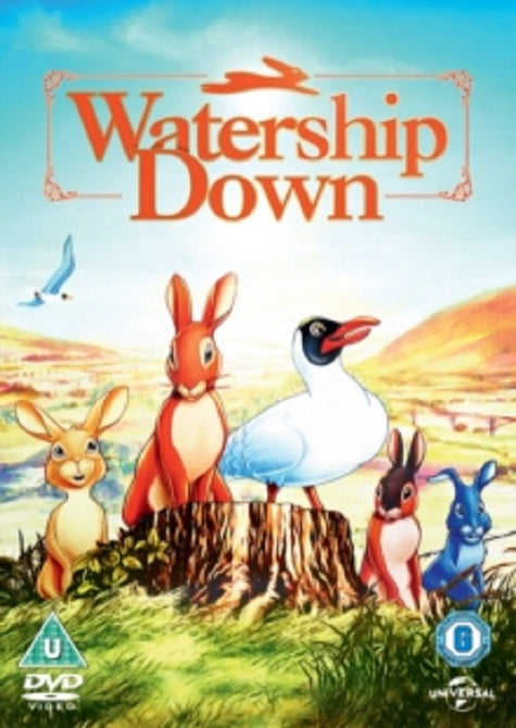 Watership Down (John Hurt, Richard Briers) New Region 2 DVD Clearance