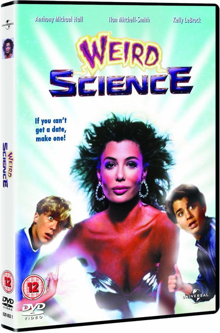 Weird Science (Kelly LeBrock) Region 4 New DVD