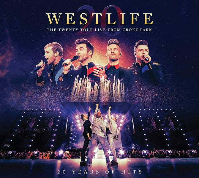 Westlife The Twenty Tour Live From Croke Park 20 Years of Hits 2 Disc CD + DVD