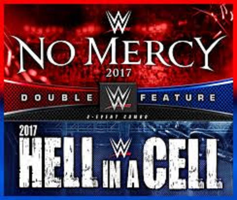 WWE No Mercy + Hell in a Cell 2017 New DVD Region 2