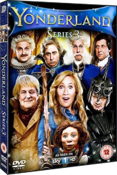 Yonderland Season 3 Series Three Third (Stephen Fry) New DVD