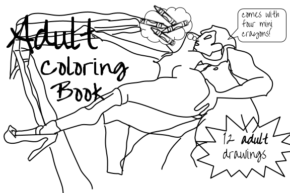 the adult coloring book collection