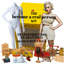 become a real person kit