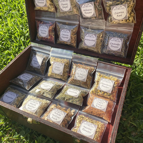 Herb Witchcraft Kit for making potions ~ wiccan herb starter kit for beginners ~ witch apothecary herbs ~ magick ritual herbs in bulk