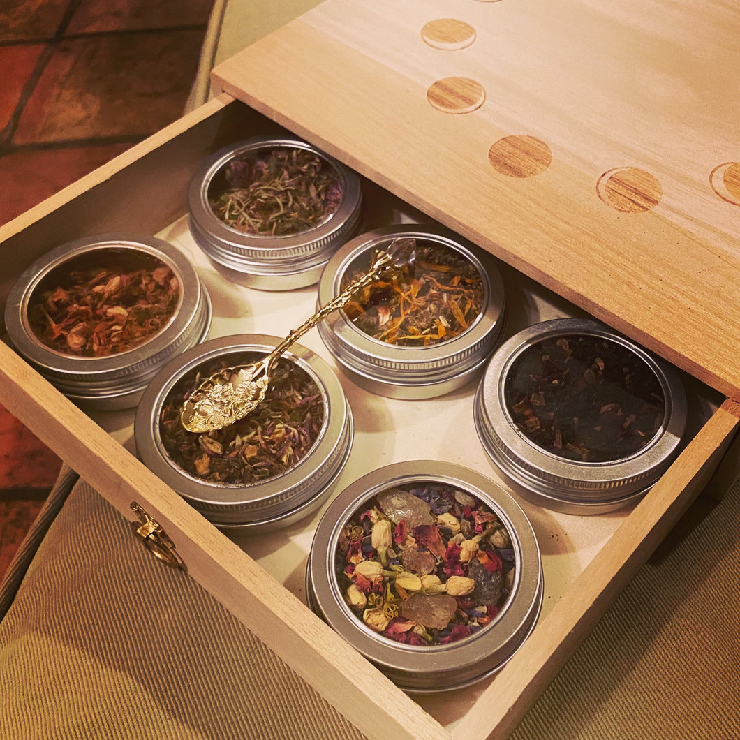 Witchy Tea Sampler ~ Tea Box Magical Blends