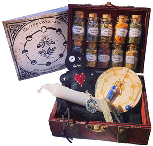 Travel Witchcraft Starter Kit ~ Wiccan Altar Supplies and Tools