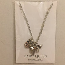 Dairy Queen charm necklace