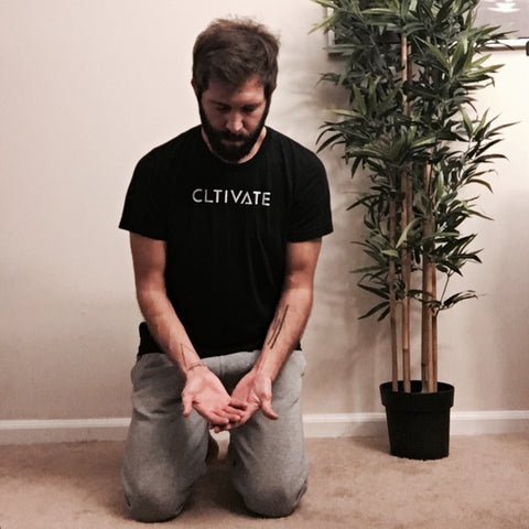Addiction and recovery outreach - CLTIVATE - A lesson in prayer, written by Zack Gudzan