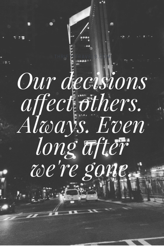 Decisions - Zack Gudzan CLTIVATE Blog. One day at a time