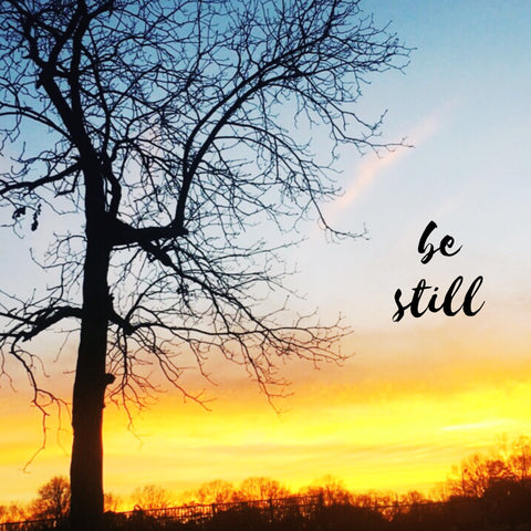 Be still and know. Zack Gudzan blog post. One day at a time. CLTIVATE
