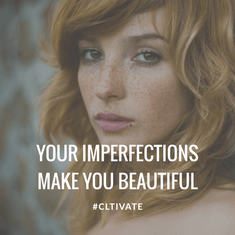 Your imperfections make you beautiful. Addiction and alcoholism resource - One Day at a Time blog from Zack Gudzan