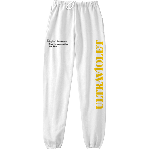 Ultraviolet Joggers (White) + Download