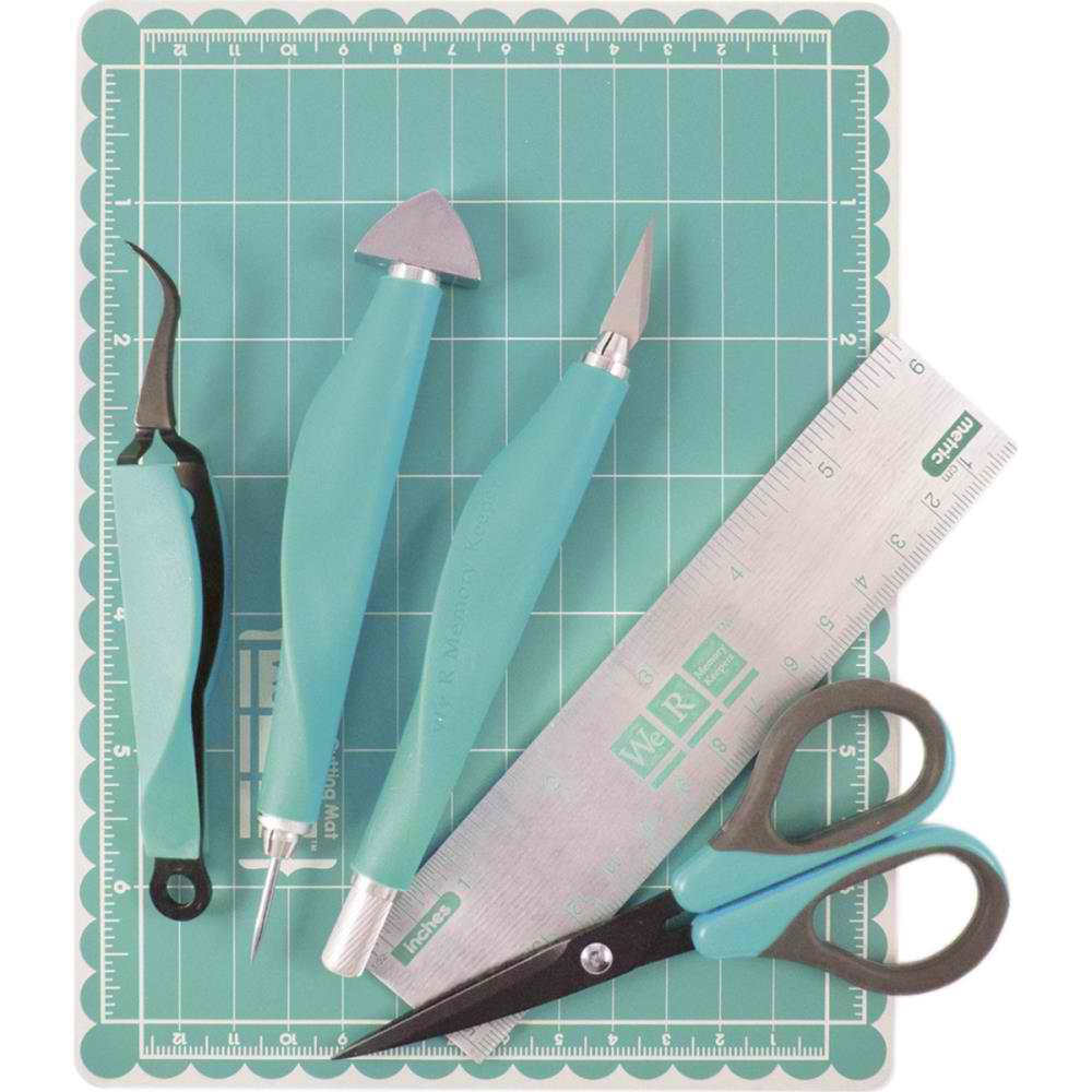 We R Memory Keepers Magnetic Mini Tool Kit