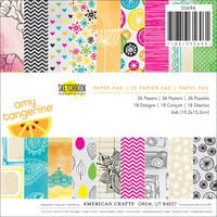 American Crafts Amy Tangerine Sketchbook 6