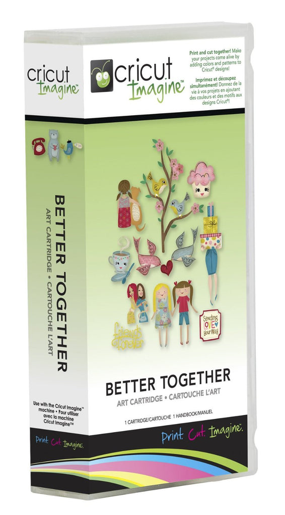 Cricut Imagine Better Together Art Cartridge