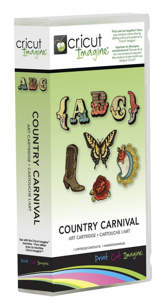 Cricut Imagine Country Carnival Art Cartridge