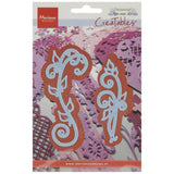 "Marianne Design Anja's Vintage Swirls, Up To 3.875"" Creatables Dies"
