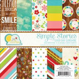"Simple Stories Good Day Sunshine 6""x6"" Double Sided Paper Pad (24 sheets/Pkg)"