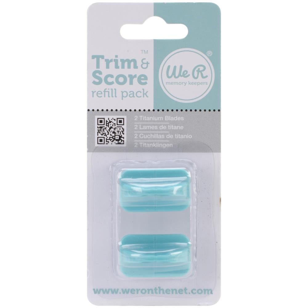 We R Memory Keepers Trim & Score Refill Pack (2pcs/pkg)