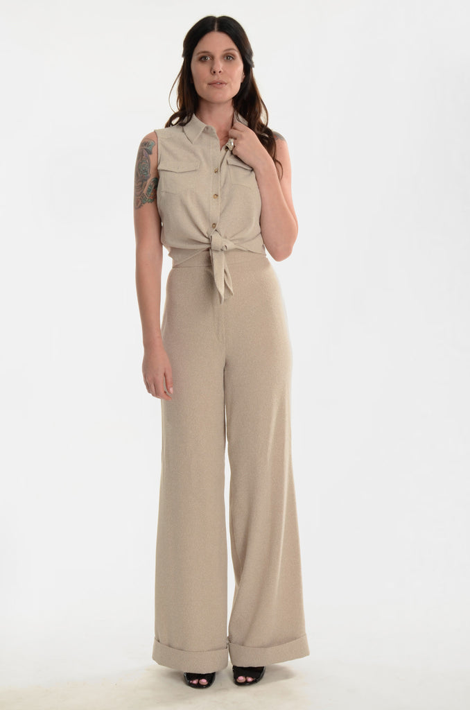 The Man-Eater High-Waisted Pants - Ava Mann