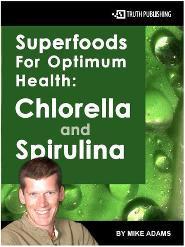 Chlorella for optimum health