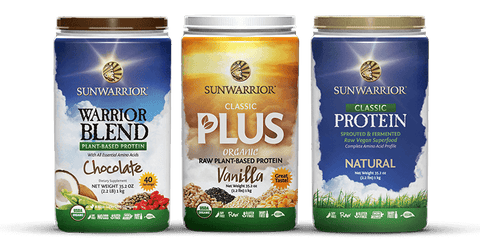Sunwarrior Classic Plus Organic Brown Rice Protein - explore our range