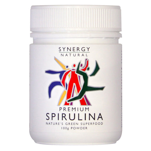 Synergy Natural Premium Spirulina 100g Powder