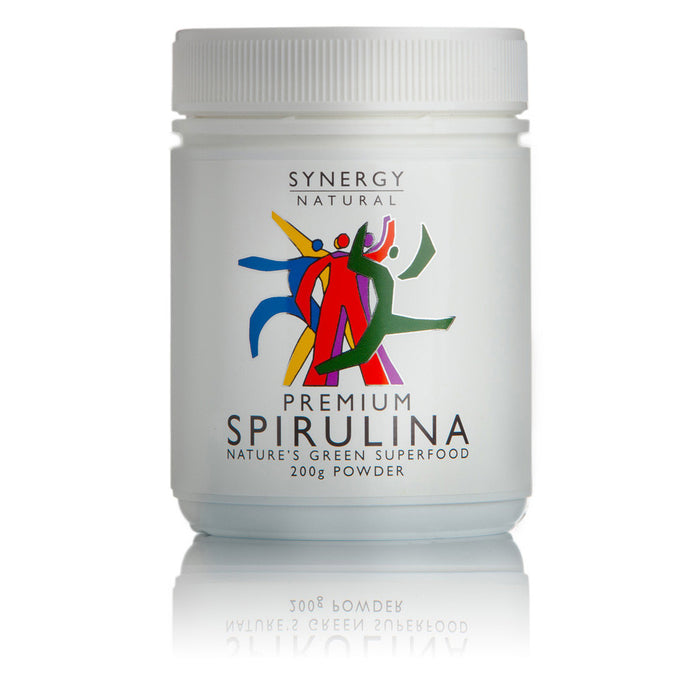 Synergy Natural Premium Spirulina 200g Powder