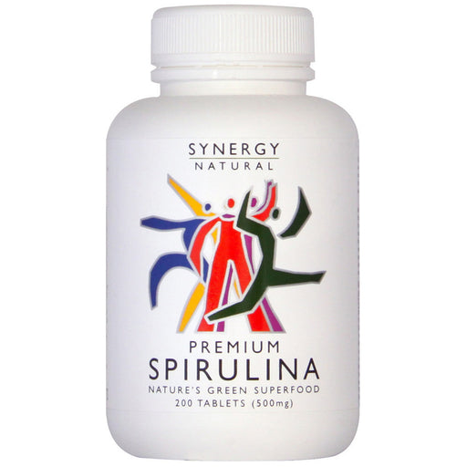 Synergy Natural Premium Spirulina 200 Tablets [SHORT EXPIRY DATE]