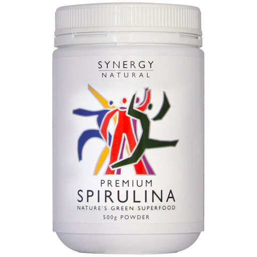 Synergy Natural Premium Spirulina 500g Powder