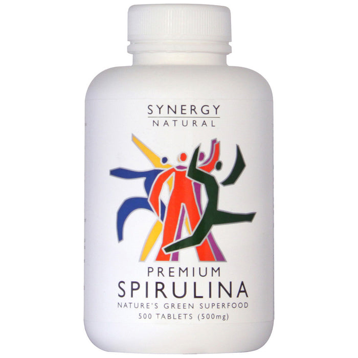 Synergy Natural Premium Spirulina 500 Tablets