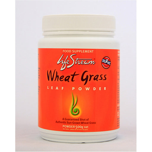 Lifestream Organic Wheat Grass 500g Powder