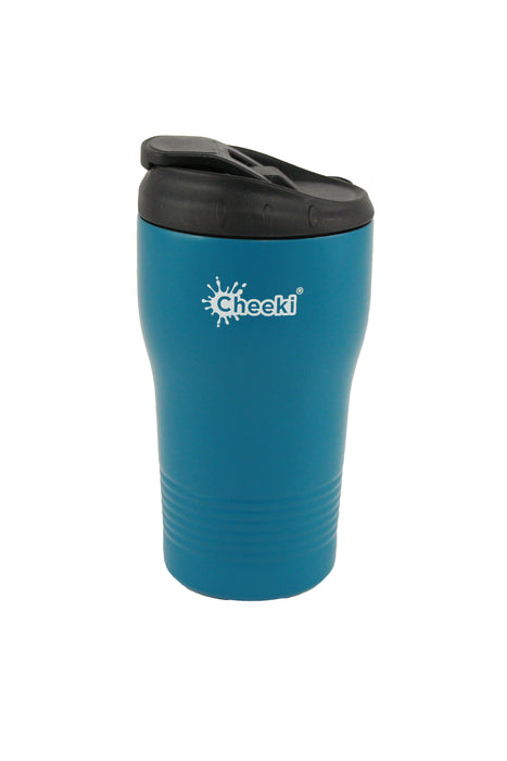 Cheeki 350ml [12oz] Insulated Coffee Cup Stainless Steel, 6 Hours Hot, 6 Hours Cold