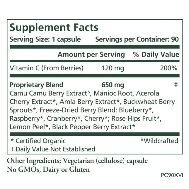 The Synergy Company Pure Radiance C 90 Capsules