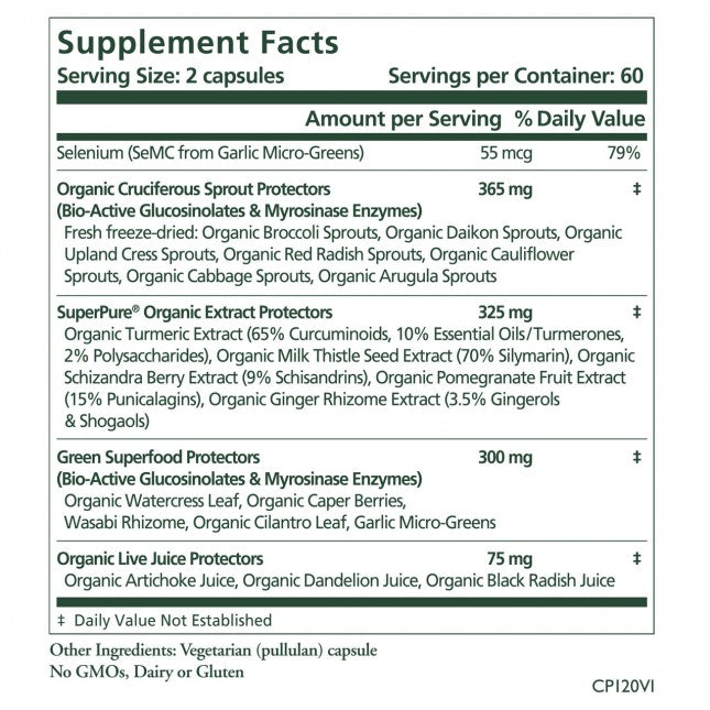 The Synergy Company Cell Protector 120 Capsules